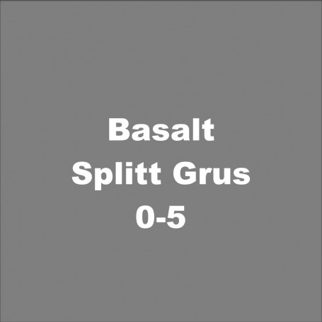 Basalt-Splitt Grus 0-5