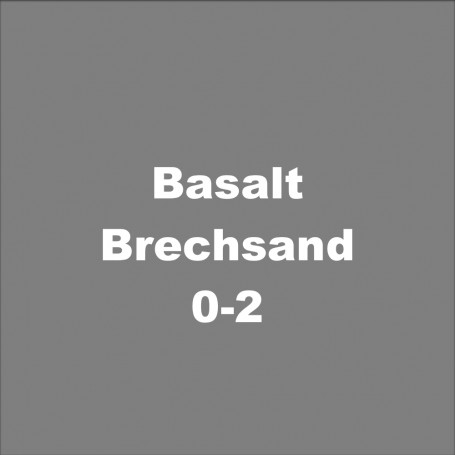 Basalt-Brechsand 0-2