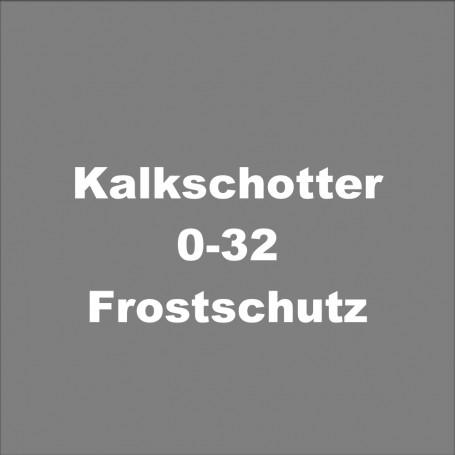 Kalkschotter 0-32 Frostschutz