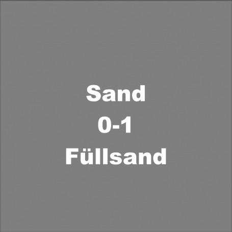 Sand 0-1 / Füllsand