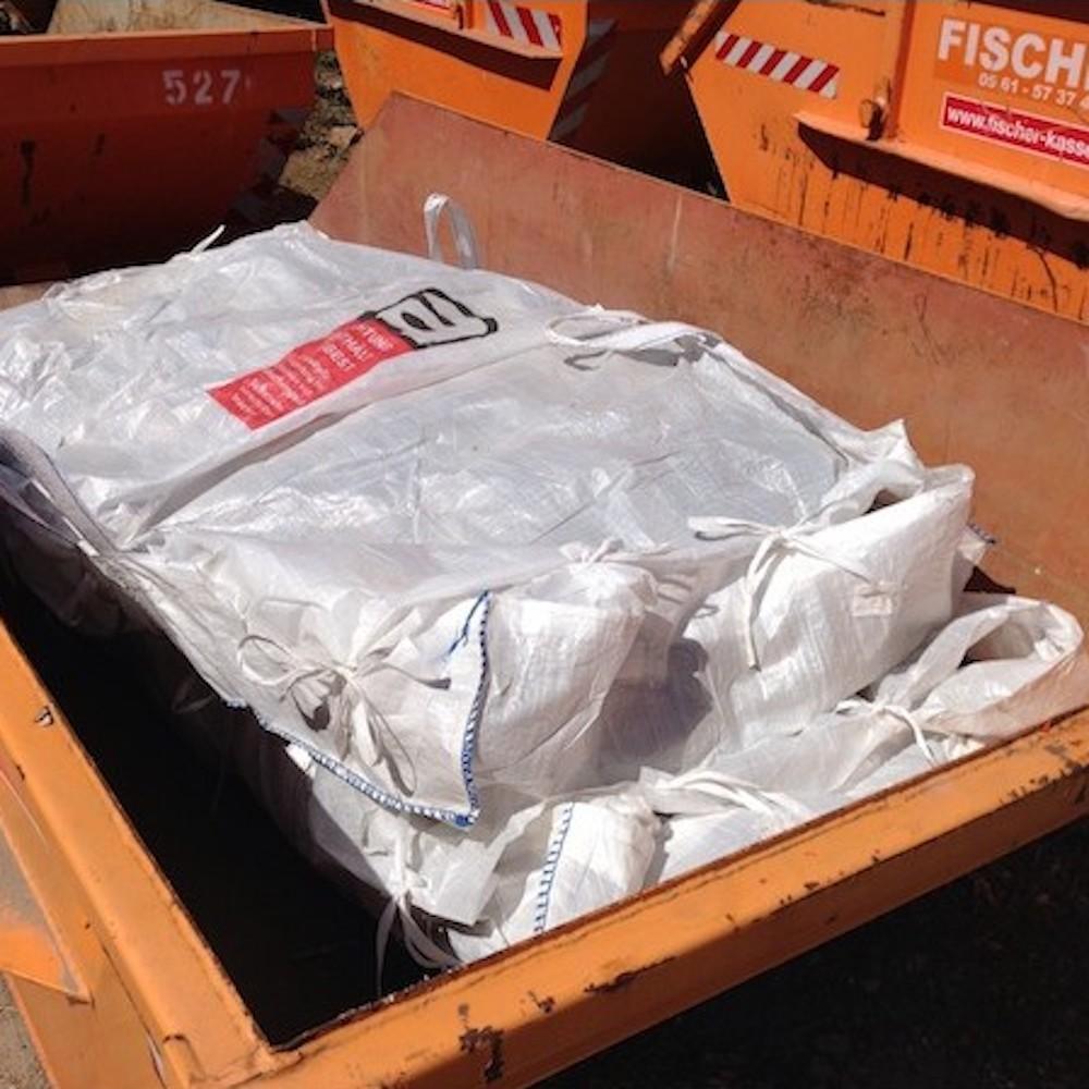 5 Cbm Absetzcontainer Fur Asbest Eternitplatten