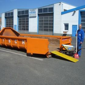 10 cbm Abrollcontainer für (Asbest / Eternitplatten)
