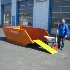5 cbm Absetzcontainer für (Dachpappe)