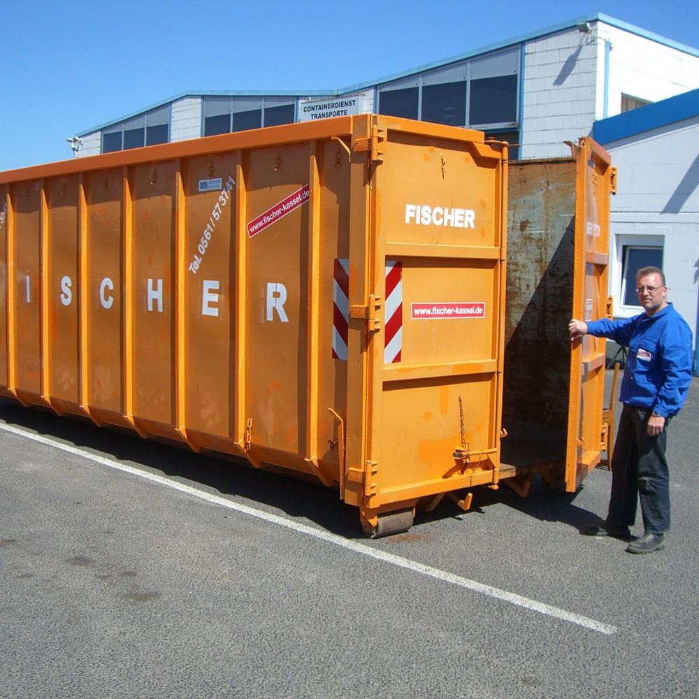 30 Cbm Abrollcontainer Für (Holz A1