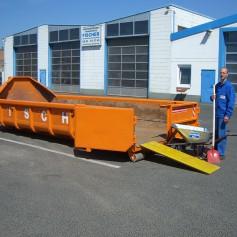 10 cbm Abrollcontainer für (Holz A4)