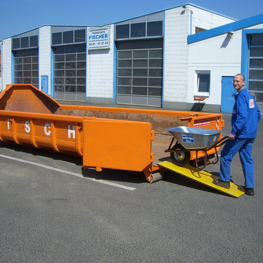 10 Cbm Abrollcontainer Für (Holz A4