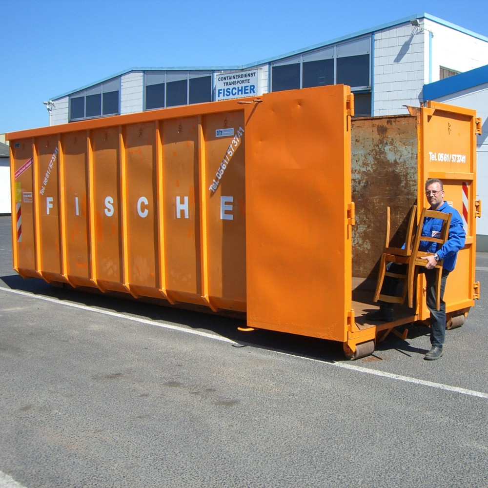 30 Cbm Abrollcontainer Für (Holz A4
