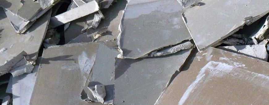 Gipskarton-/ Rigipsplatten (AVV 170802)
